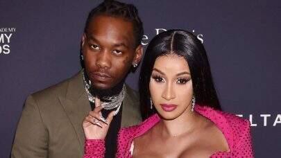 Cardi B entra com pedido de divórcio do rapper Offset