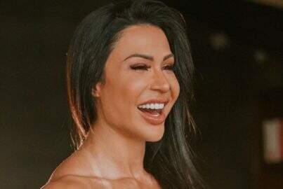 """Gracyanne Barbosa eleva o clima na web com troca de looks: """"Qual vocês preferem?"""""""