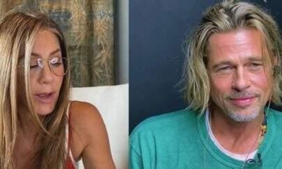 """Jennifer Aniston se 'declara' para Brad Pitt: """"Você é tão sexy!"""""""
