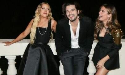 Luan Santana, Luísa Sonza e Giulia Be cantarão em live especial