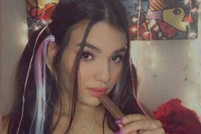 Irmã de Juliana Caetano faz vídeo no Instagram e objeto inusitado chama a atenção