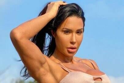 Gracyanne Barbosa ostenta saúde em treino e recebe elogios dos fãs