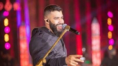 Gusttavo Lima realiza sua primeira live após separação