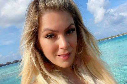 """Renata Fan encanta web ao fazer vídeo """"mandando beijos"""" para os fãs no Instagram"""