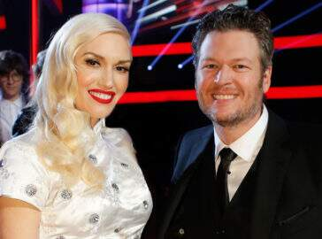 Gwen Stefani fica noiva do cantor country Blake Shelton