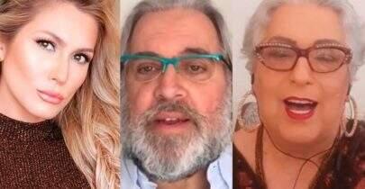 Lívia Andrade, Mamma Bruschetta e Leão Lobo são demitidos do SBT, diz jornalista
