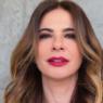 Luciana Gimenez mostra look inusitado em frente ao espelho do elevador