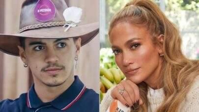'A Fazenda': Biel revela que já ficou bêbado com Jennifer Lopez