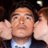"""Filha de Diego Maradona, Dalma, relembra infância com o pai e gera comoção: """"Destruída"""""""