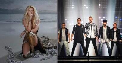 """Relançamento do álbum """"Glory"""" de Britney Spears vai ter música com Backstreet Boys"""