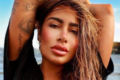 Internautas apontam uso exagerado de Photoshop em fotos de Rafaella Santos