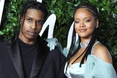 Rihanna está namorando o rapper A$AP Rocky, diz revista americana