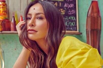 Sabrina Sato compartilha série de fotos de novo ensaio com look fashionista
