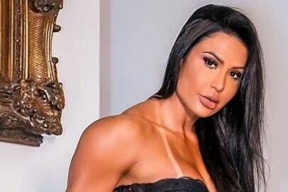 """Em clima natalino, Gracyanne Barbosa faz ensaio ousado com Belo: """"Mamãe Noel tá diferente"""""""
