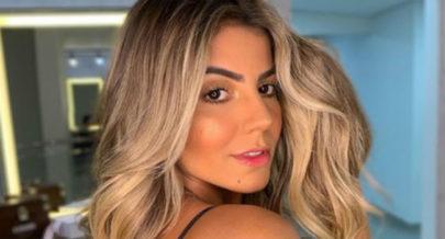 """Ex-BBB Hariany Almeida exibe corpão sem retoques e deixa estrias à mostra: """"Uma deusa!"""""""