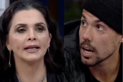 """Ex-A Fazenda, Lipe Ribeiro, discute com Luiza Ambiel: """"Não teve noivo que aguentou"""""""