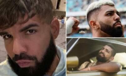 Drake mostra novo corte de cabelo e viraliza na web por semelhança com Dilsinho e Gabigol