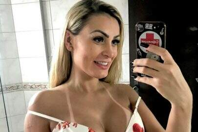 Andressa Urach surpreende web ao anunciar retorno para o 'Miss Bumbum'