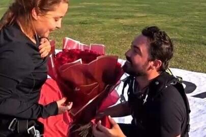 """Fernando Zor surpreende Maiara com pedido de casamento em Dubai: """"Agora vai!"""""""