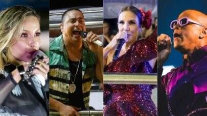 Confira a agenda de lives já programadas por artistas para agitar o Carnaval