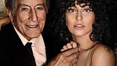 Lenda do jazz, Tony Bennett confirma que deve lançar novo disco com Lady Gaga