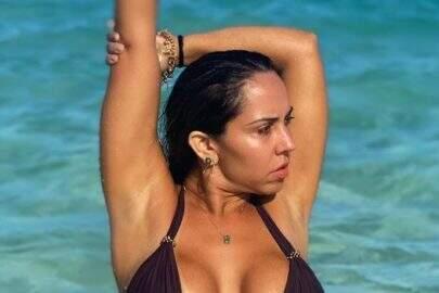 """6 vezes que a Mulher Melão posou com looks ousados e chamou atenção: """"Musa!"""""""