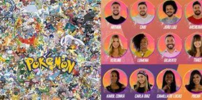 BBB21: Perfil no Twitter faz comparação de participantes do reality com Pokémon e viraliza na web