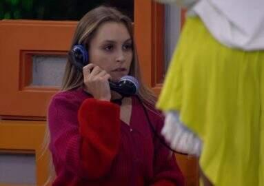 BBB21: Carla Diaz atende Big Fone e indica três participantes ao Paredão
