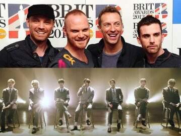 Coldplay manda mensagem fofa em coreano para BTS após grupo cantar canção da banda