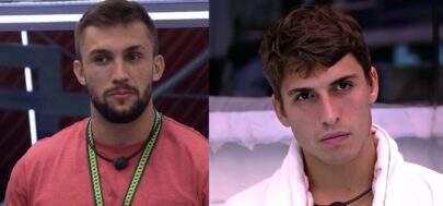 """BBB21: Arthur se compara a Felipe Prior e ex-BBB rebate: """"Cada um faça sua história"""""""