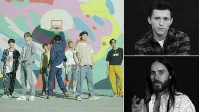 """Astros de Hollywood fazem 'cover' de """"Dynamite"""" do BTS e agita web"""