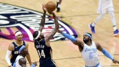 Com show da dupla Zion Williamson e Brandon Ingram, Pelicans vence Lakers
