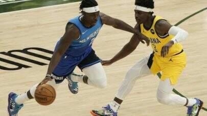 Sem Giannis Antetokounmpo, Milwaukee Bucks vence Indiana Pacers por placar elástico