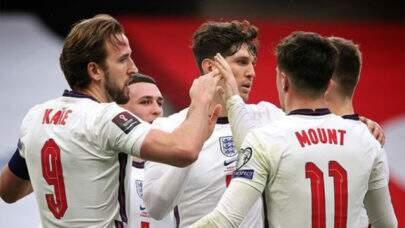 Inglaterra vence Albânia por 2 a 0 e consagra segunda vitória consecutiva nas eliminatórias