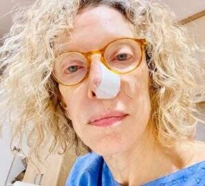 Marília Gabriela descobre câncer de pele e passa por cirurgia