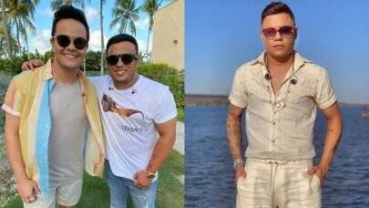 """Para 'abalar corações', Felipe Araújo divulga single """"Mais Um"""" em parceria com Matheus & Kauan"""