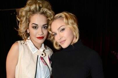 """Rita Ora revela como foi seu primeiro encontro com Madonna: """"Muito estranho"""""""