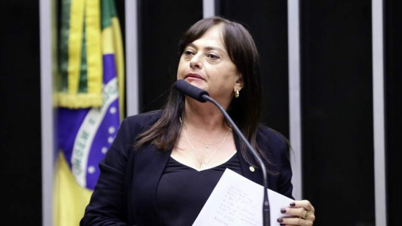 Deputada Alice Portugal (PC do B-BA)