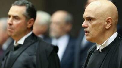 Alexandre de Moraes chama de grosseiro ataque de Bolsonaro ao STF e exige respeito