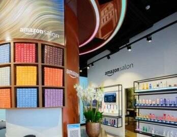 Amazon decide abrir um salão de cabeleireiro em Londres para testar novas tecnologias
