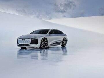 Audi lança modelo sedan A6 E-Tron totalmente elétrico