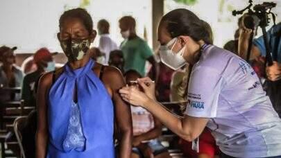 Brasil aplicou a primeira dose de vacina em mais de 25,7 milhões de brasileiros desde janeiro
