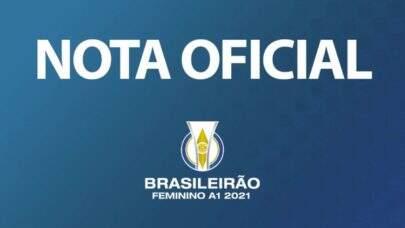 CBF se manifesta contra fala racista em transmissão do Brasileirão Feminino A1