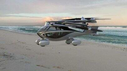 Carro voador elétrico começa a ser disponibilizado para compras na pré-venda