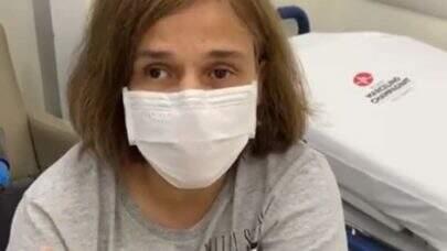 Atriz Claudia Rodrigues é internada após sentir dores no corpo e febre