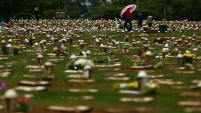 Com mais de 3 mil mortes nesta quarta-feira (21), Brasil passa dos 380 mil óbitos por Covid-19