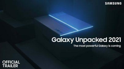 Confira como assistir o evento da Samsung que acontecerá hoje, o Galaxy Unpacked 2021