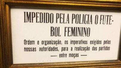 Decreto-Lei que proibiu o futebol feminino no Brasil completa 80 anos