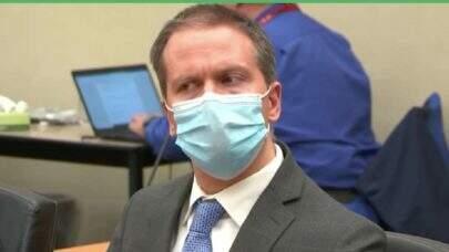 Derek Chauvin, ex-policial acusado de matar George Floyd, é declarado culpado