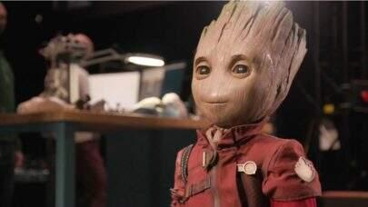 Disney apresenta o novo robô do personagem Groot